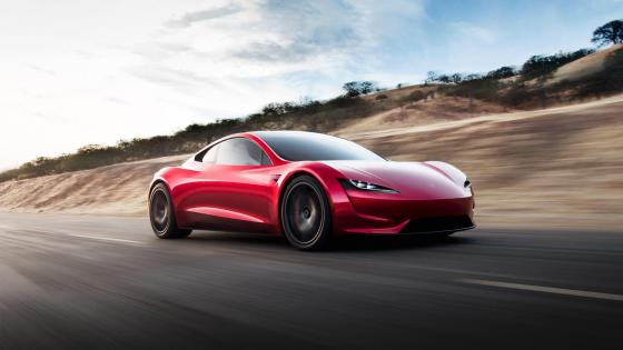 Tesla Roadster wallpaper