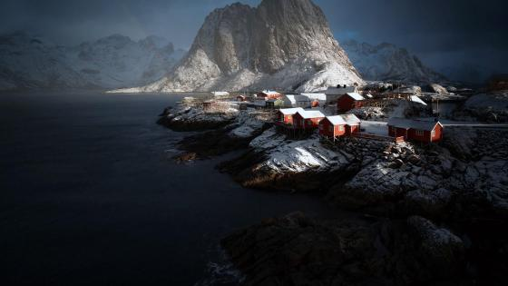 Hamnoy - Lofoten, Norway wallpaper