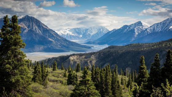 Kluane National Park and Reserve - Yukon territory wallpaper