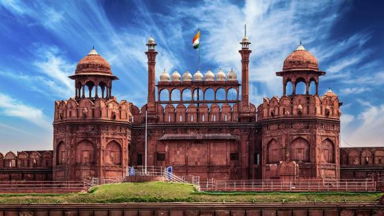 The Red Fort wallpaper