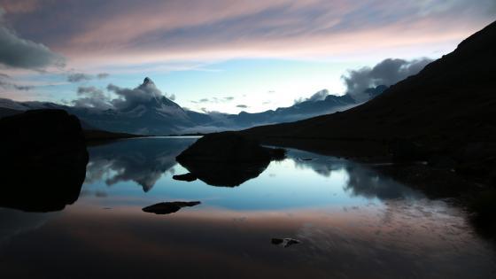 Matterhorn reflection wallpaper
