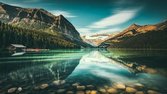 Lake Louise - Banff National Park, Alberta, Canada wallpaper