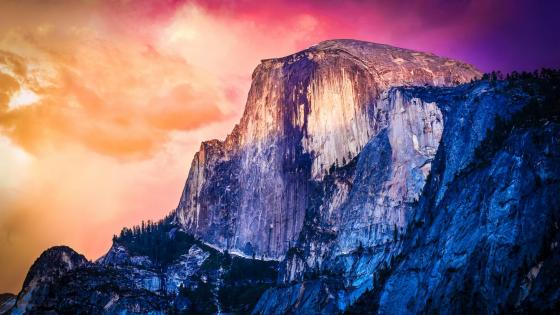 Half Dome - Yosemite National Park wallpaper