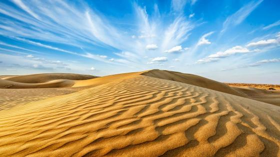 Desert dunes - Rajasthan wallpaper