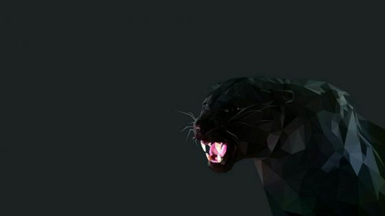 Black panther wallpaper