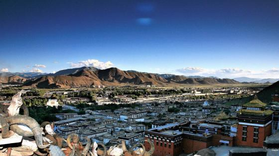 Shigatse view wallpaper