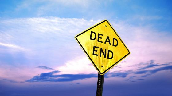 Dead End - Traffic sign wallpaper