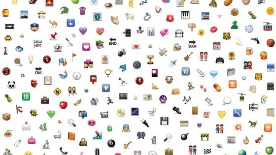 Cool emoji icons wallpaper