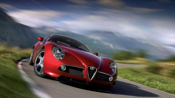 2003 Alfa Romeo 8C Competizione wallpaper