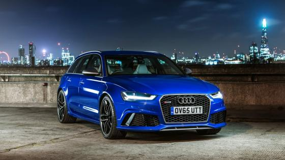 Audi RS 6 at night wallpaper