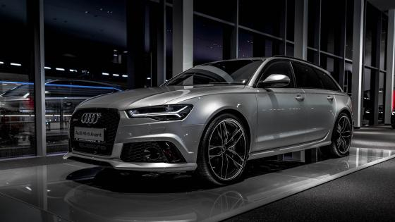 Silver Audi RS 6 wallpaper