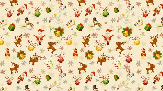 Xmas wrapping paper wallpaper