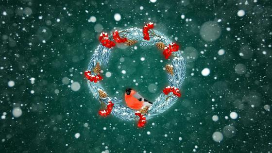 Christmas Wreaths wallpaper