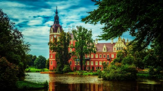 Muskau Castle - Germany wallpaper