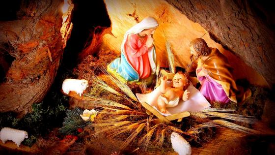 Birth of Jesus wallpaper