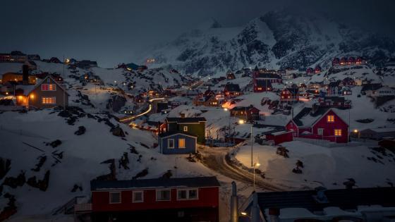 Sisimiut - Greenland wallpaper
