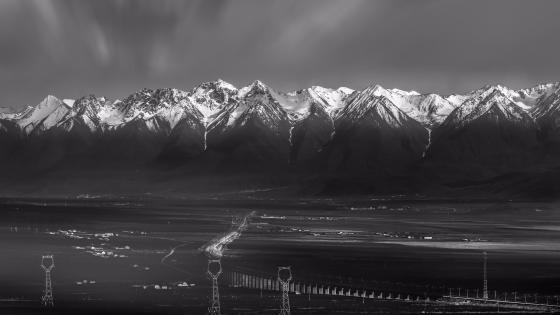 Qilian Mountains wallpaper
