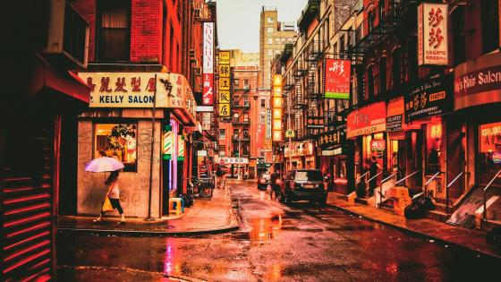 Chinatown - New York City wallpaper