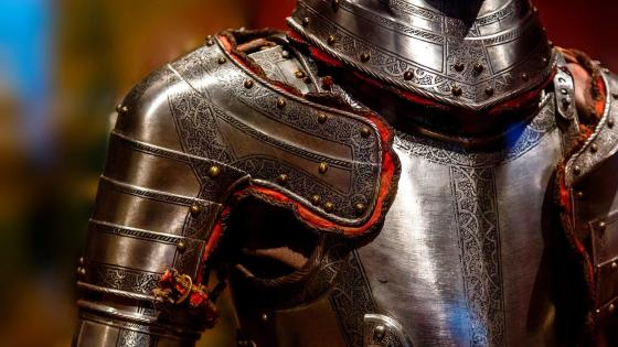 Antique body armor wallpaper