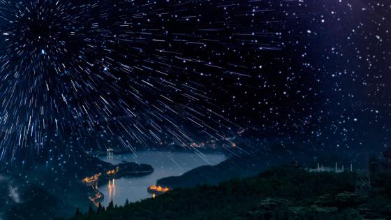 Leonid meteor shower wallpaper