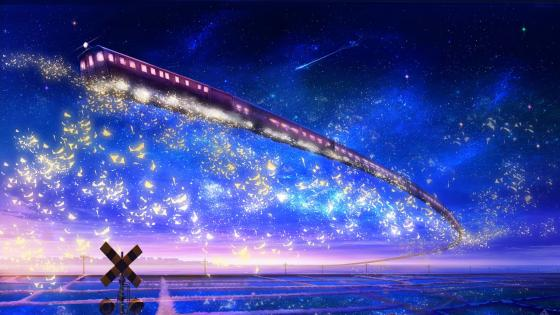Galaxy Express wallpaper