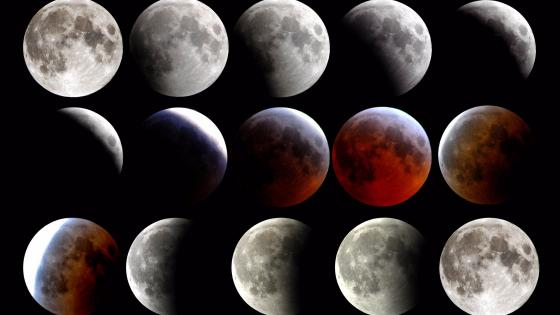 Total eclipse wallpaper