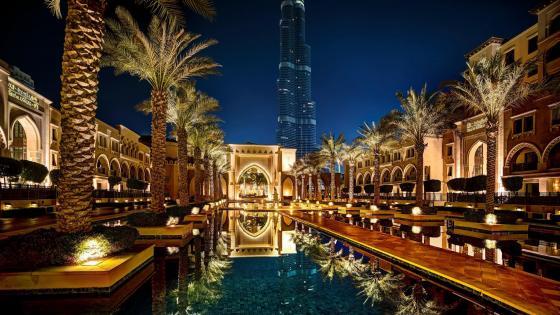 Hotel in Dubai wallpaper