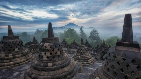 Borobudur temple wallpaper