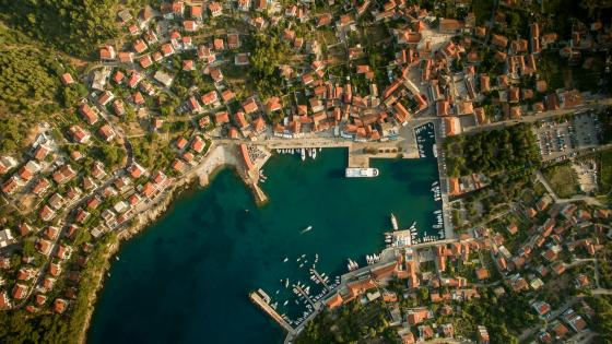 Jelsa - Hvar Island, Croatia wallpaper