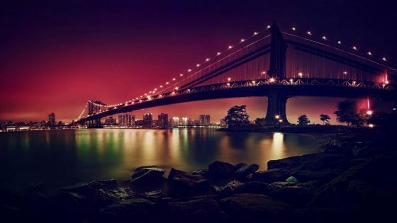 Manhattan Bridge, New York City, New York, United States