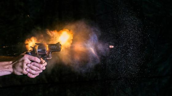 High speed ballistics photography wallpaper