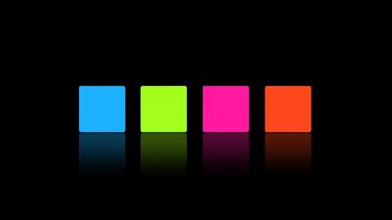 4 neon square wallpaper