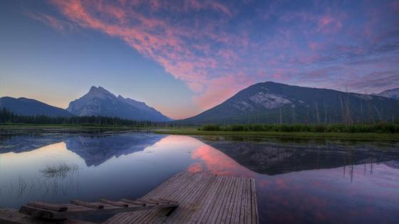 Vermilion Lakes - Banff National Park wallpaper