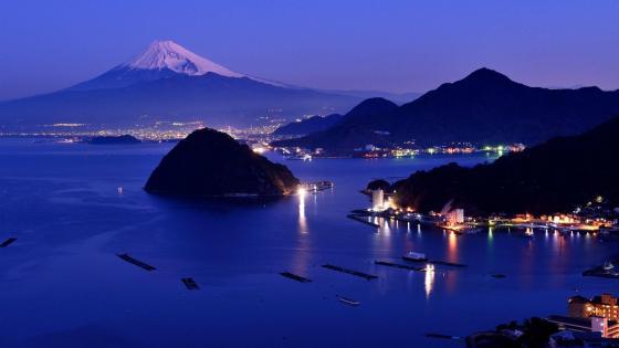 Mount Fuji view wallpaper