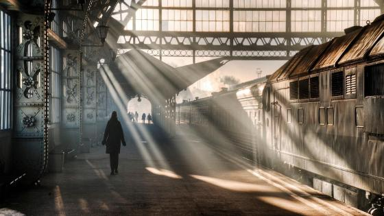 Vitebsky railway station wallpaper