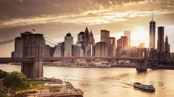 NYC Brooklyn Bridge wallpaper