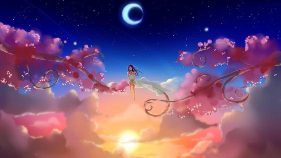 Dream World - Anime art wallpaper