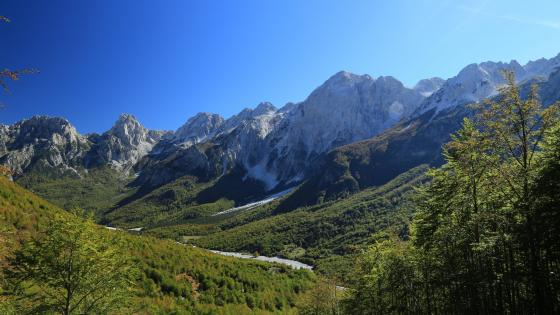 Valbona Valley wallpaper