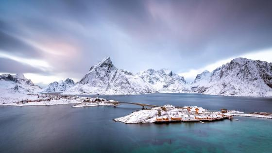 Sakrisoya - Reine, Norway wallpaper