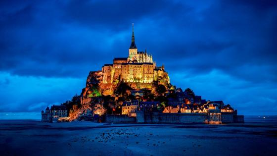 Mont Saint-Michel (France) wallpaper