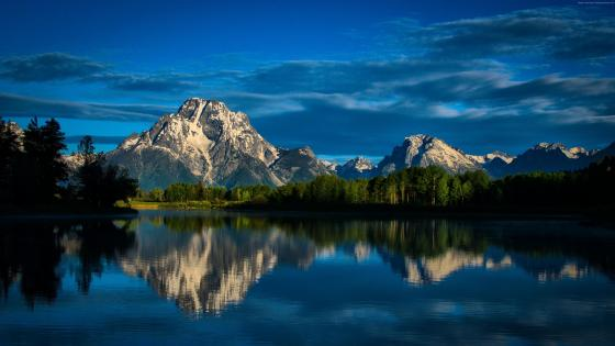 Grand Teton National Park, Mount Moran wallpaper