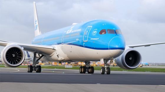 KLM 787 Dreamliner wallpaper