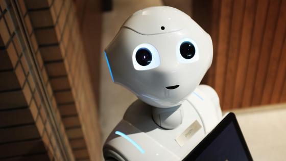 Pepper - humanoid robot wallpaper