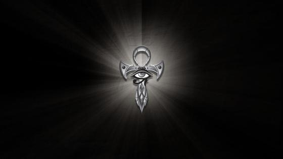 Egyptian Ankh wallpaper