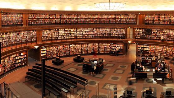 University Library wallpaper