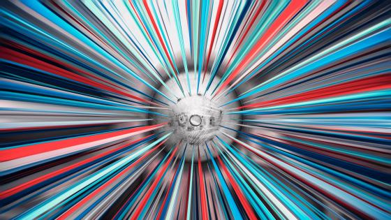 Explosion - Abstract digital art wallpaper