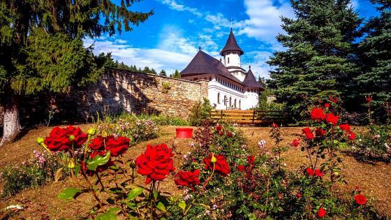 Pangarati Monastery - Moldova wallpaper