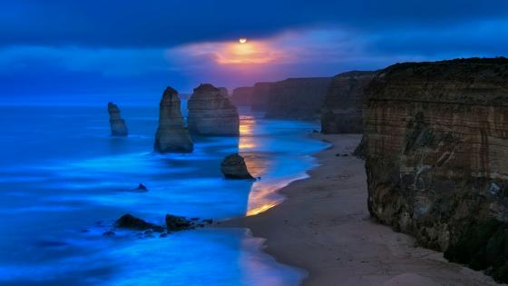 Twelve Apostles (Marine National Park, Port Campbell ) wallpaper