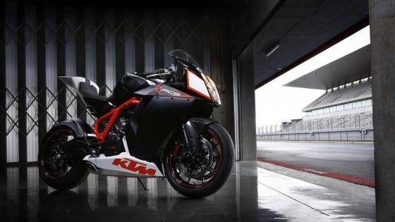 KTM 1190 RC8 superbike wallpaper