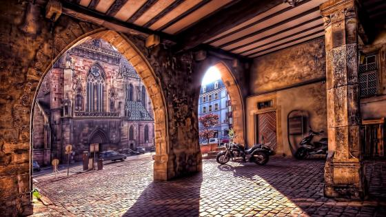 Colmar - Historic French town wallpaper